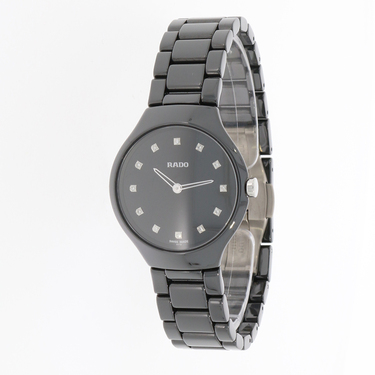RADO True Thinline Damenuhr mit 12 Brillanten 0,067 ct. R27742732