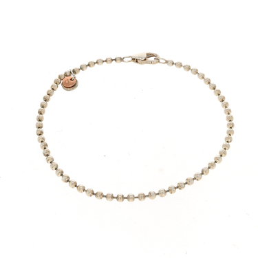 DoDo Armband Every Day aus 925 Sterlingsilber / 375 Rosegold 20 cm